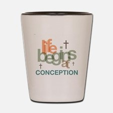 oct_life_conception Shot Glass