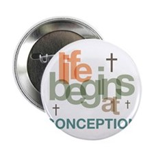 """oct_life_conception 2.25"""" Button"""