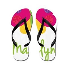 Madelyn-the-butterfly Flip Flops