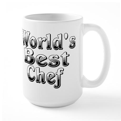 WORLDS BEST Chef Large Mug
