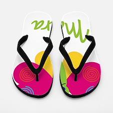 Maura-the-butterfly Flip Flops