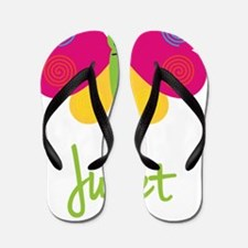 Juliet-the-butterfly Flip Flops