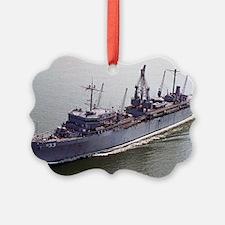 slake lare framed print Ornament