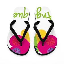 Angelique-the-butterfly Flip Flops