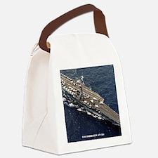 forrestal cv framed panel print Canvas Lunch Bag