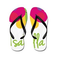 Isabella-the-butterfly Flip Flops