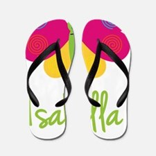 Isabella-the-butterfly Flip Flops