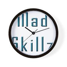 Mad Skillz Wall Clock