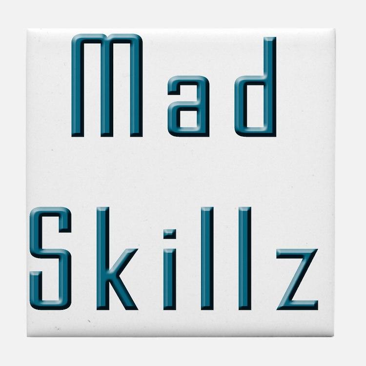 Mad Skillz Tile Coaster