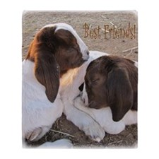 Best Friends! Throw Blanket