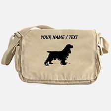 Custom Cocker Spaniel Messenger Bag