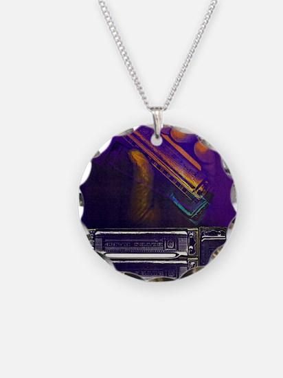 harpbendpuzfin2 Necklace