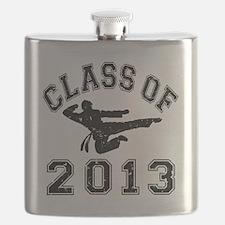 Class Of 2013 - Martial Art 2 D Flask
