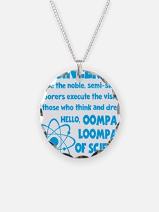 blue2, Oompa Loompas Necklace