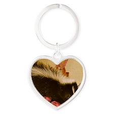 spinkrose Heart Keychain