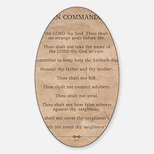 feb11_ten_commandments Decal