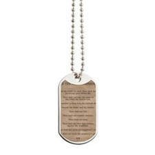 feb11_ten_commandments Dog Tags