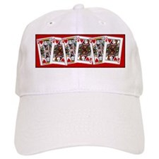 king and queen of hearts Baseball Cap