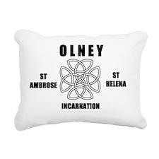 OLNEY TRI Rectangular Canvas Pillow