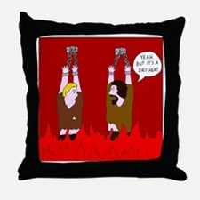 Dry Heat Throw Pillow