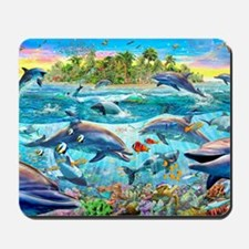 Dolphin Reef Mousepad