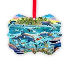 Dolphin Reef Ornament