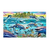 Dolphin 3x5 Rugs