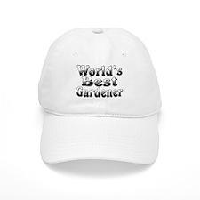 WORLDS BEST Gardener Baseball Baseball Cap
