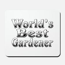WORLDS BEST Gardener Mousepad