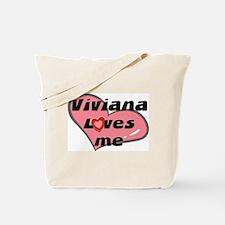 viviana loves me Tote Bag