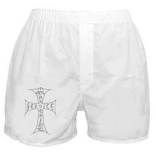 gravesidecross 2nd cross copy Boxer Shorts