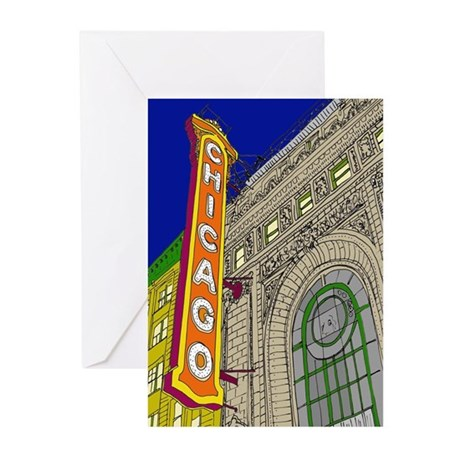 Chicago Theater Greeting Cards (Pk of 10)