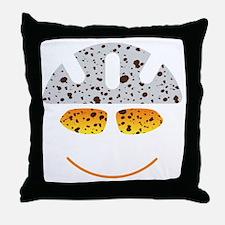 happy mtb Throw Pillow