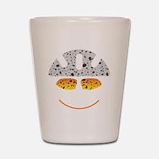 happy mtb Shot Glass