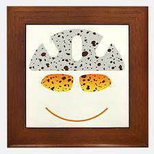 happy mtb Framed Tile