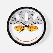 happy mtb Wall Clock