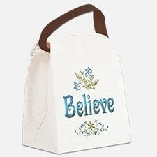 believe Canvas Lunch Bag