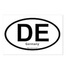 de_germany Postcards (Package of 8)