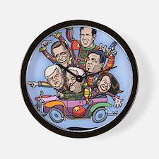 clown-car-gop-LG Wall Clock