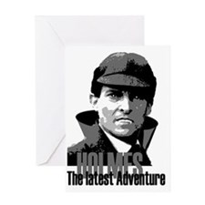 Holmes: The Latest Adventure Greeting Card
