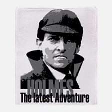 Holmes: The Latest Adventure Throw Blanket