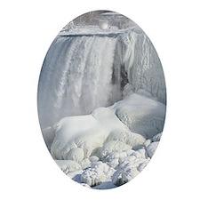 Bridal Veil Falls Oval Ornament