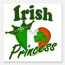 "Irish Princess 2012 Square Car Magnet 3"" x 3"""