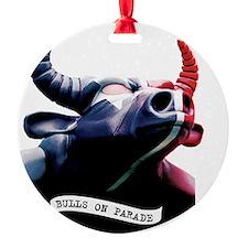 Bulls on Parade Ornament