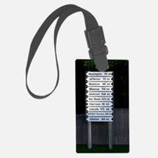 maine directions keychaine Luggage Tag