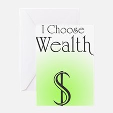 Wealth Greeting Card