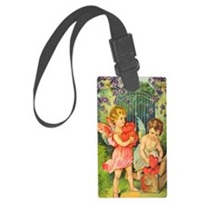 Cupids Heart Box Luggage Tag