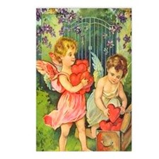 Cupids Heart Box Postcards (Package of 8)