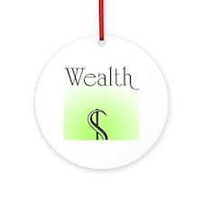 Wealth Round Ornament