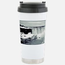 Winter In Niagara Travel Mug